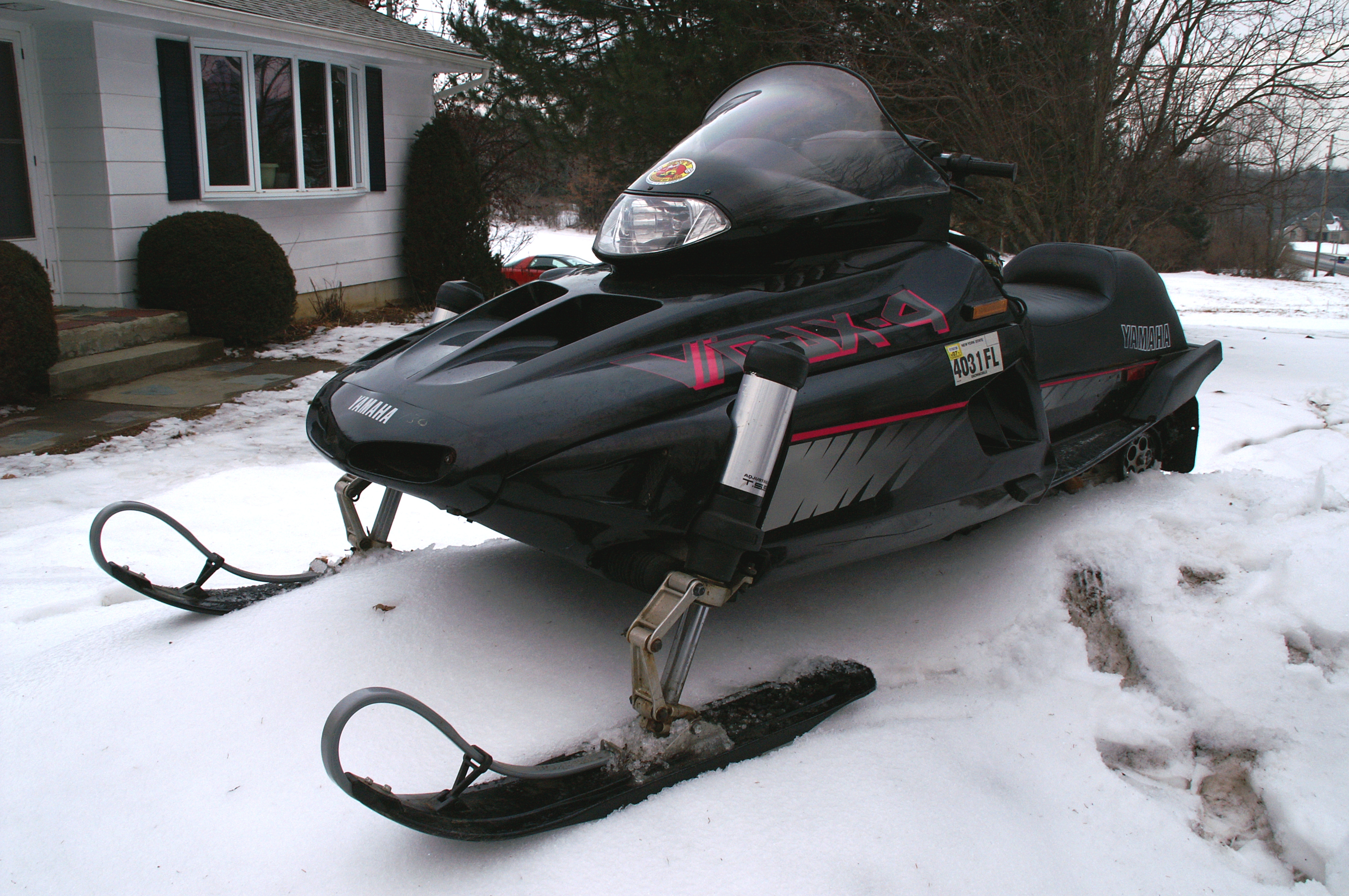Yamaha Vmax Snowmobile For Sale